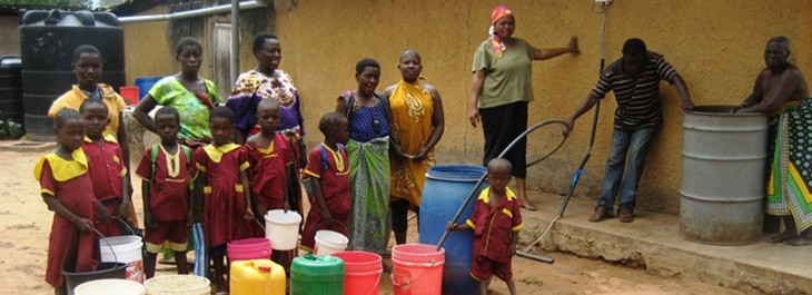 Brunnenbau Tansania